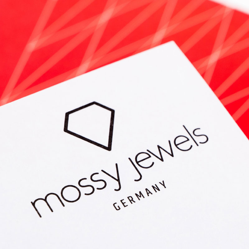 Mossy Jewels Briefbogen